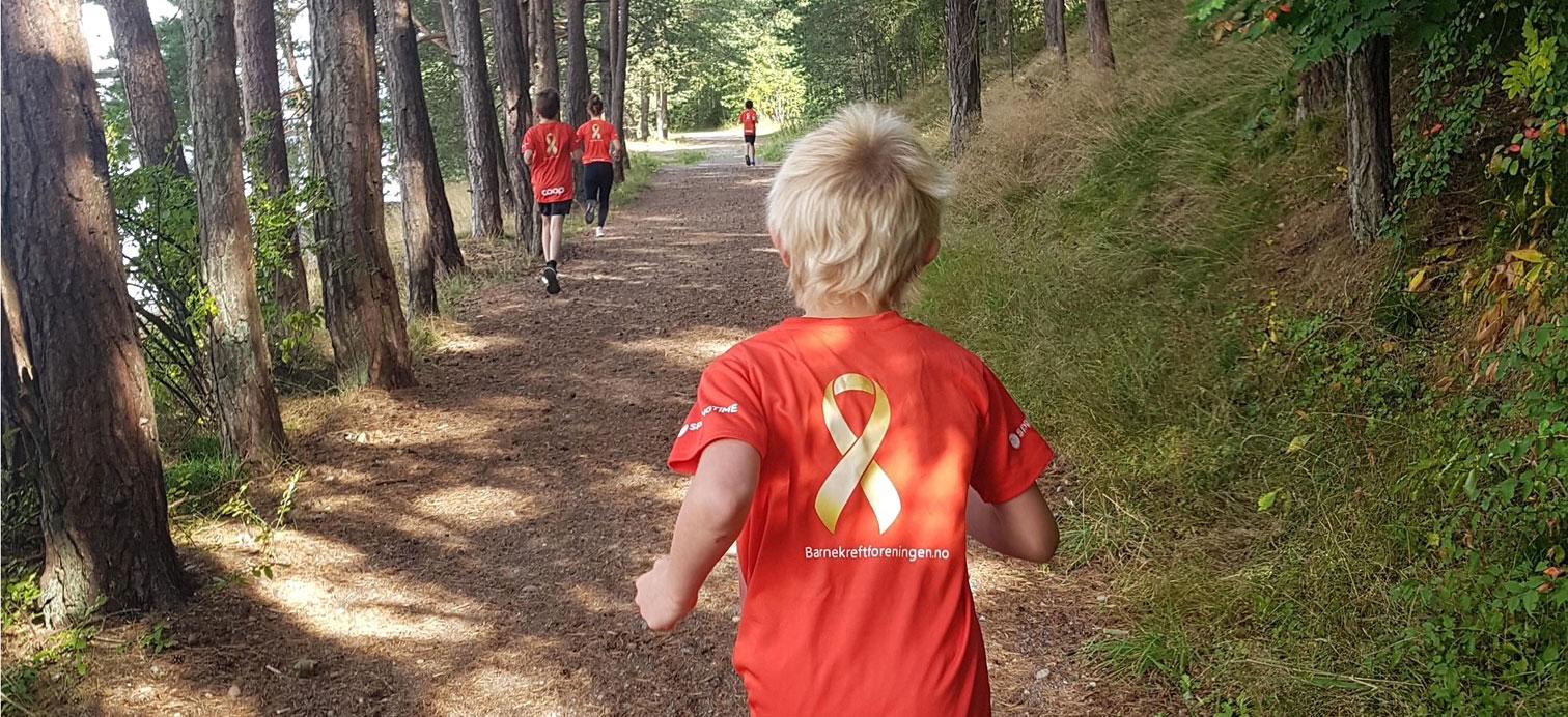 JoinEvent - Løp for meg – Barnekreftforeningen